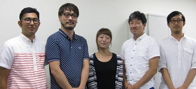ブックリスタ otoCoto 沖縄編集部の皆さん